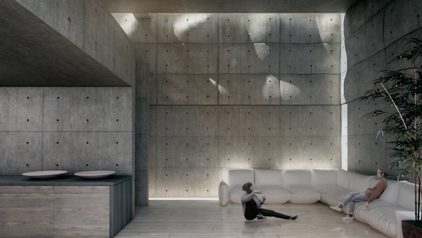 Koshino House Tadao Ando On Behance