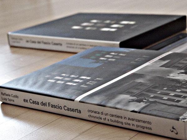 book graphic Catalogue editorial architectural Project design photo Caserta Italy light mussolini fascism building exhibit