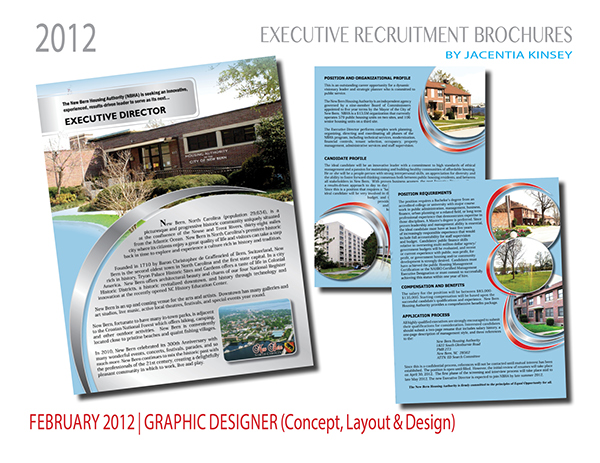 executive recruitment brochures on student show
