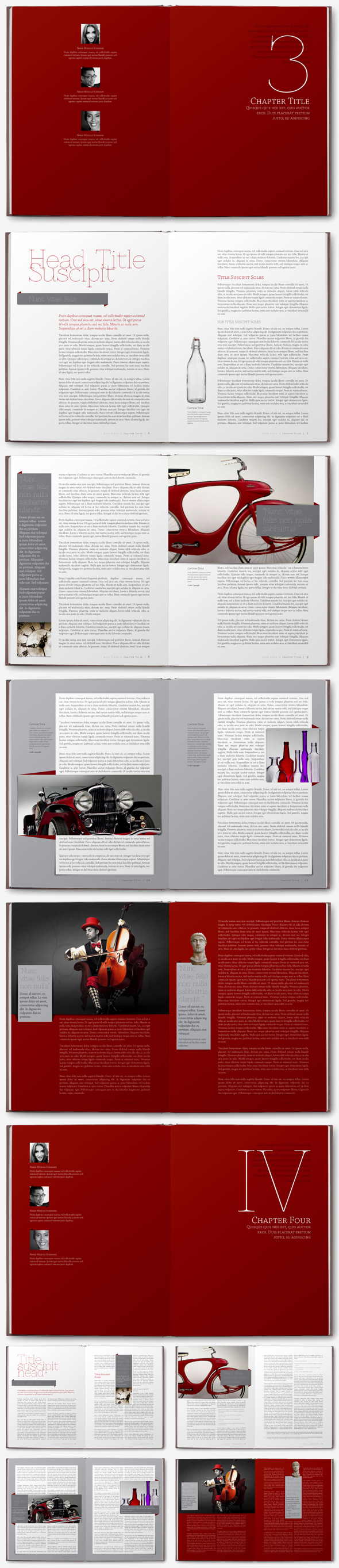 Book Templates on Behance