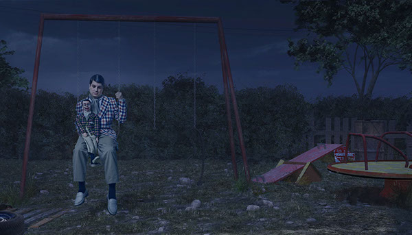 Matt Hoyle Circus circus freak Celebrity portrait cinematic story