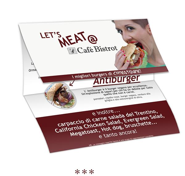 Burgers restaurant Bistrot pub flyer Promotional meat cafe dinner lunch menu