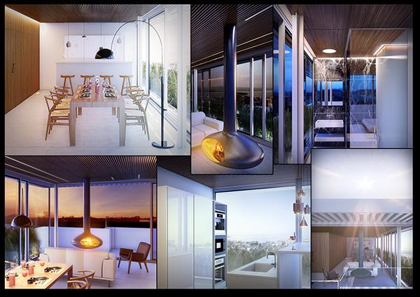 vray  3dsmax  architecture Interior visualisation lighting
