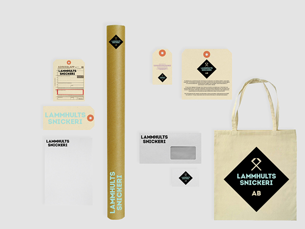 Lammhults Snickeri branding on Behance