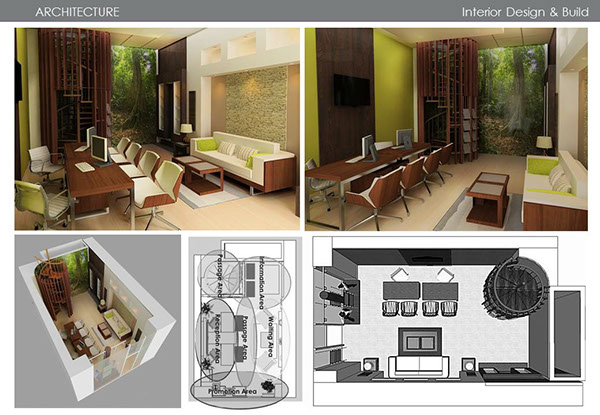 Interior architecture tourism malaysia office in paris on for Office design malaysia