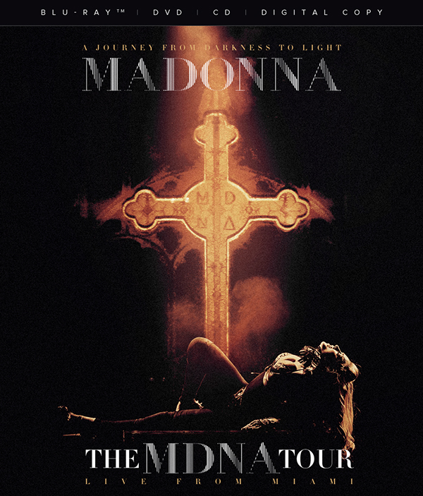Madonna The Mdna Tour Live From Miami Blu Ray On Behance