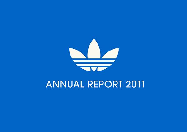 adidas relazione annuale sulla behance