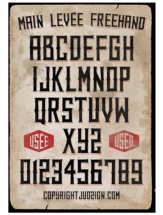 Type Western Font On Behance