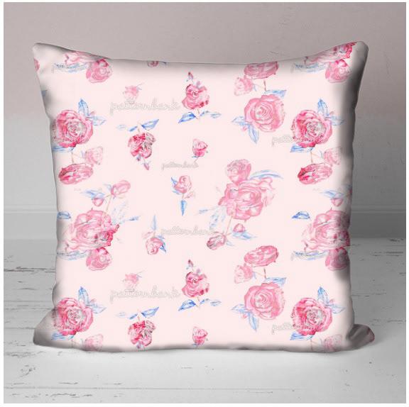 Image may contain: throw pillow, wall and cushion