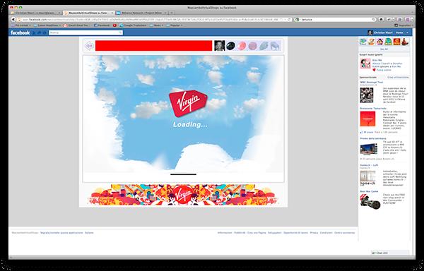 Facebook Application showroom virtual shop