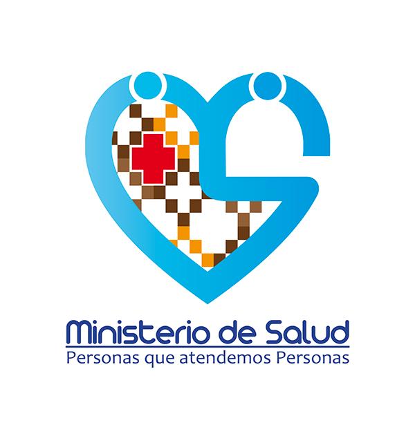 Logo ministerio de salud on behance for Ministerio de salud peru
