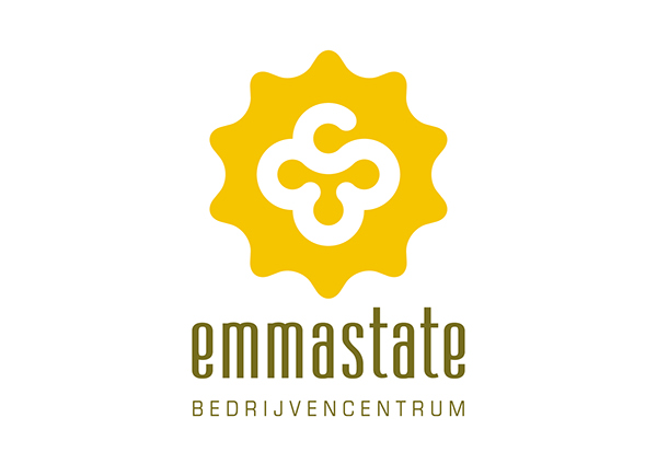 emmastate Leeuwarden bedrijvencentrum huisstijl logo menno de boer vormgeving
