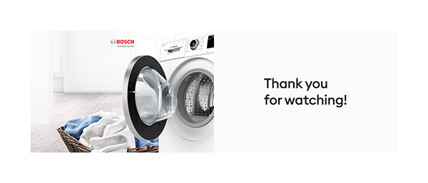Bosch Home Appliances. Website redesign