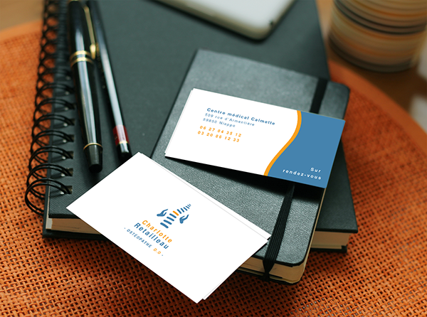 Logo Carte De Visite On Behance
