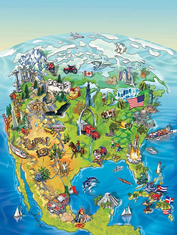 social studies book cover maps illustration on behance
