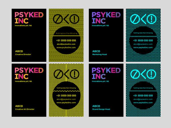Identity Development Print Stationery Emailer Design