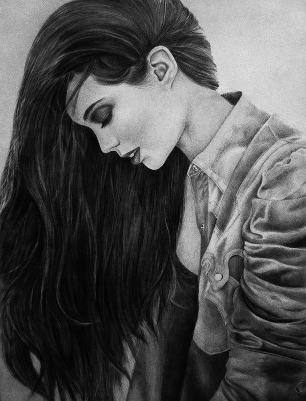 Drawings: Girls on Behance