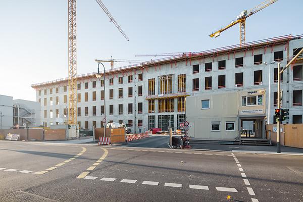 berlin stadtschloss mitte construction site baustelle