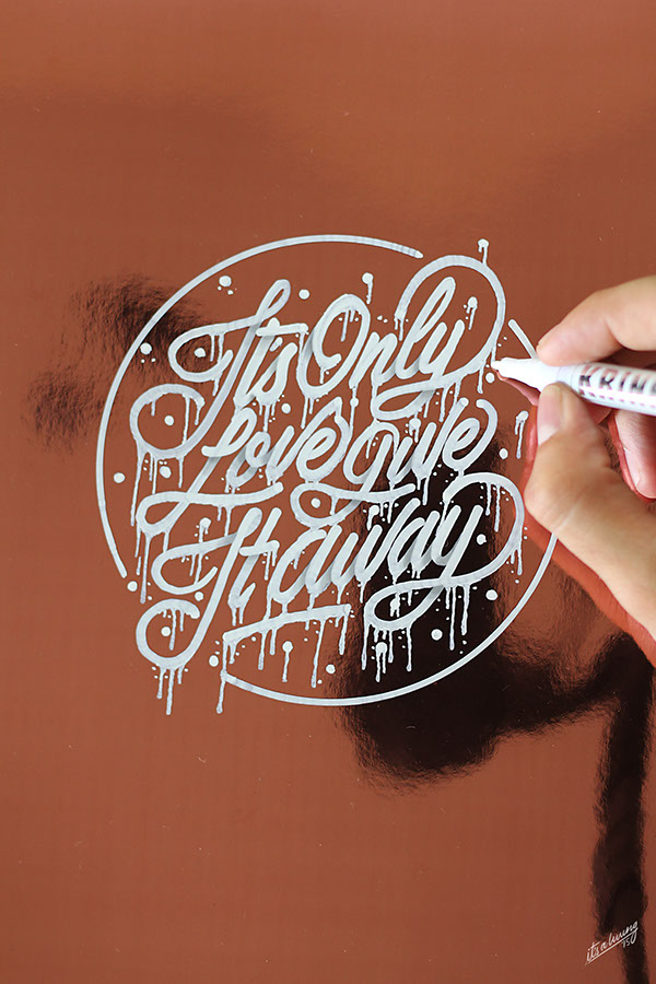 2015 Lettering Calligraphy Selection On Pantone Canvas Gallery