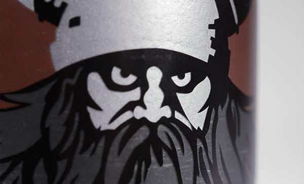 beer bière ecosse scottish metal canette Legendary légende banshee browni viking