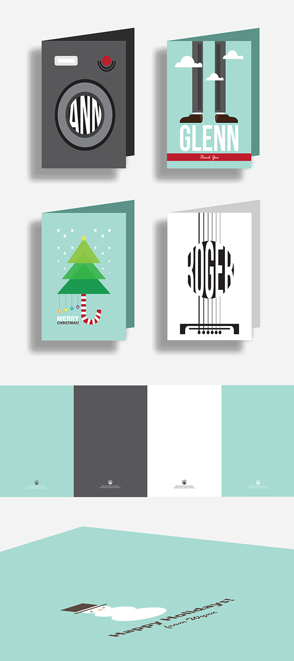 Christmas Card Designs 2014 on Pantone Canvas Gallery