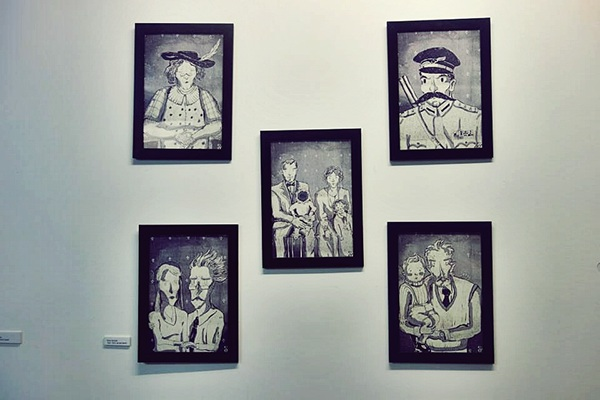 family portraits Exhibition