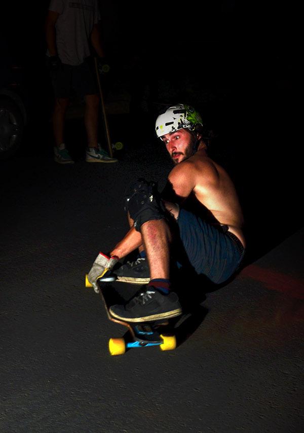 LONGBOARD downhill Fotografia deporte extremo argentina