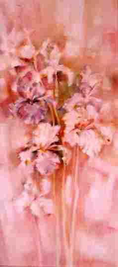 oil paintings, flower