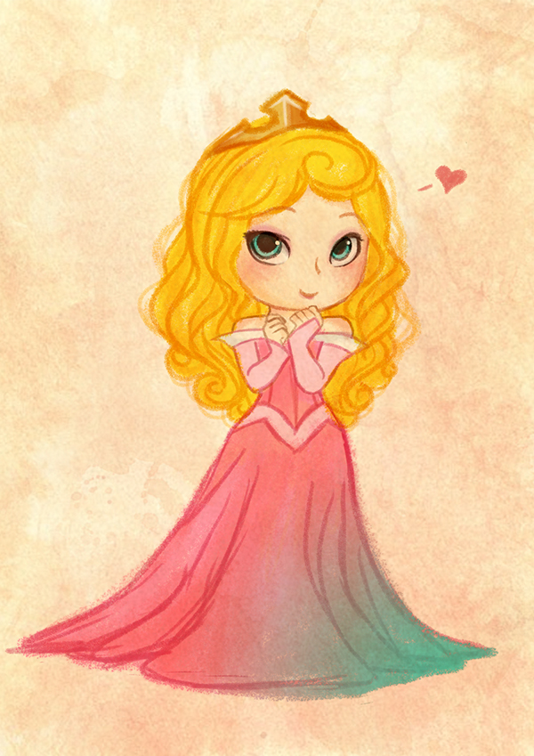 Disney Princess On Behance