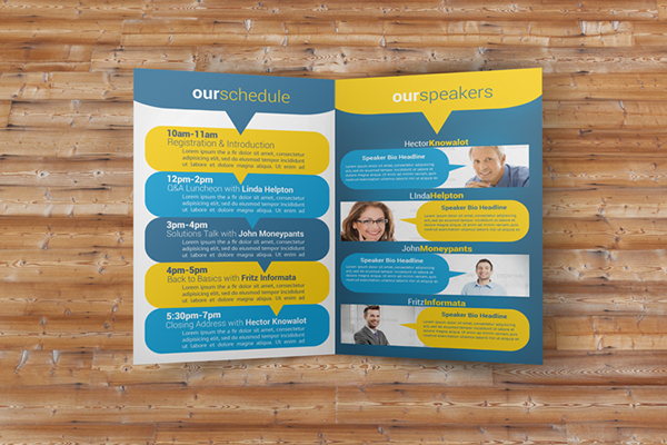 Social Conference Brochure Pack On Behance