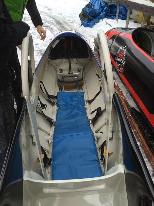 Bobsleigh luge skeleton taxi la plagne france Savoie Albertville