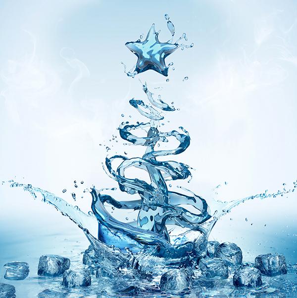 Christmas Tree Water.Christmas Tree Water Libridacqua