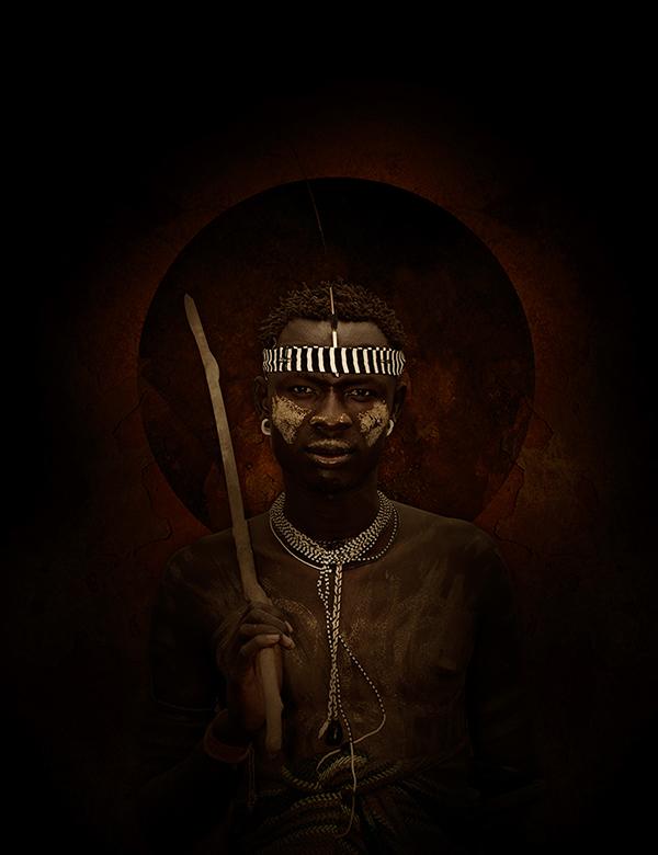 photo manipulation dark art africa tribal digital Imaging spiritual Mysticism religion
