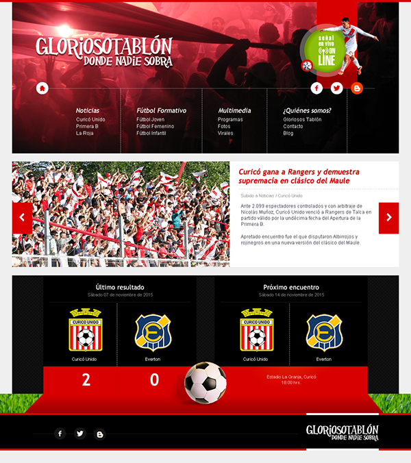 Curico Unido Images Photos Videos Logos Illustrations And Branding On Behance