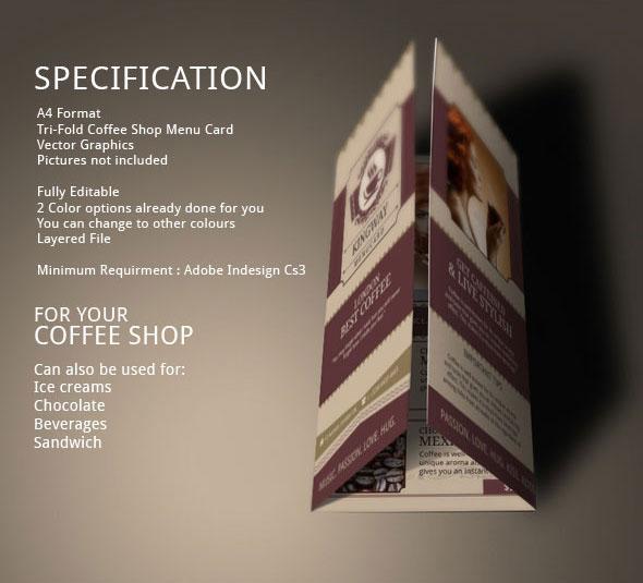 coffee shop best coffee  organic coffee coffee shop design Coffee Shop Menu tri fold brochure Coffee Store brochure ideas Modern Design Brochure Template