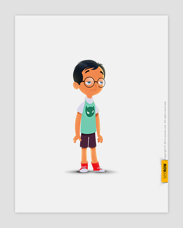 2d Animation Character Design Tutorial Pdf : Seerow d character designs on wacom gallery