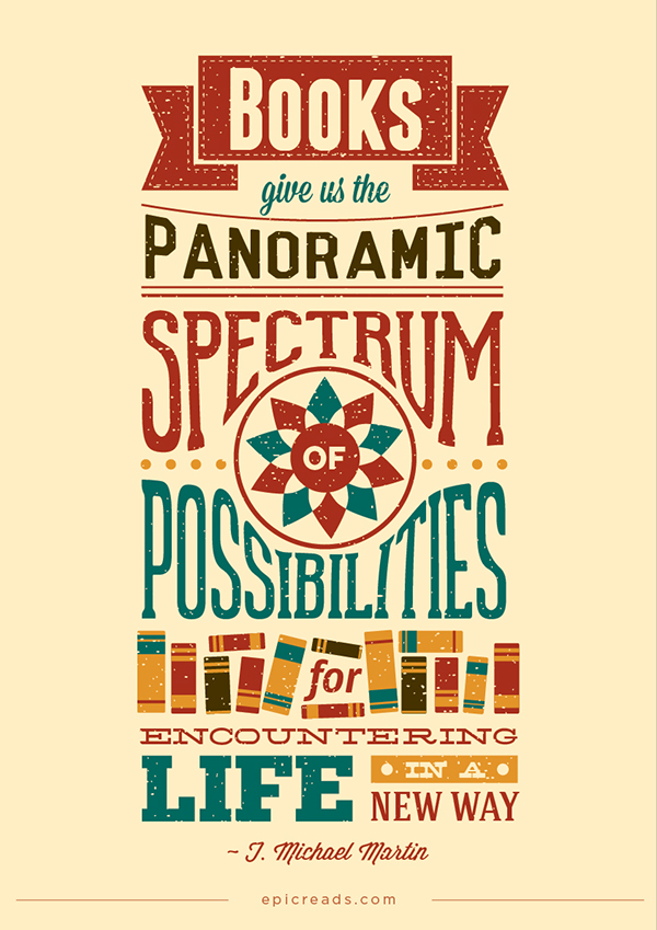 Quotes books posters