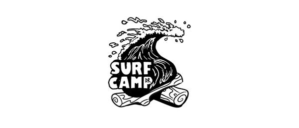 Surf School Logo Surf Camp dr Surf School