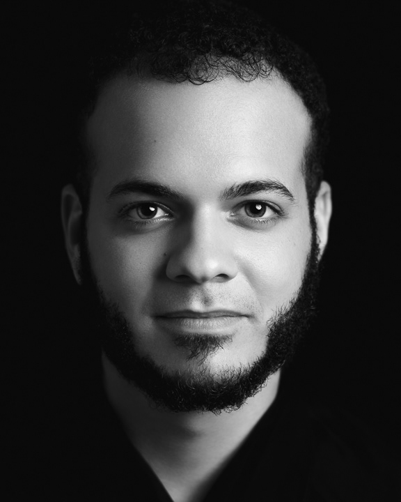 Photography  portrait headshot black and white b&w Santiago Dominican republic