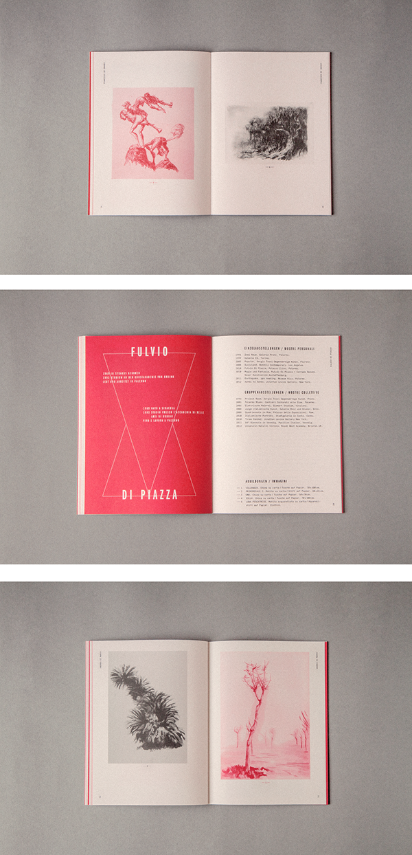 La scuola di palermo exhibition catalogue on pantone for Scuola web design