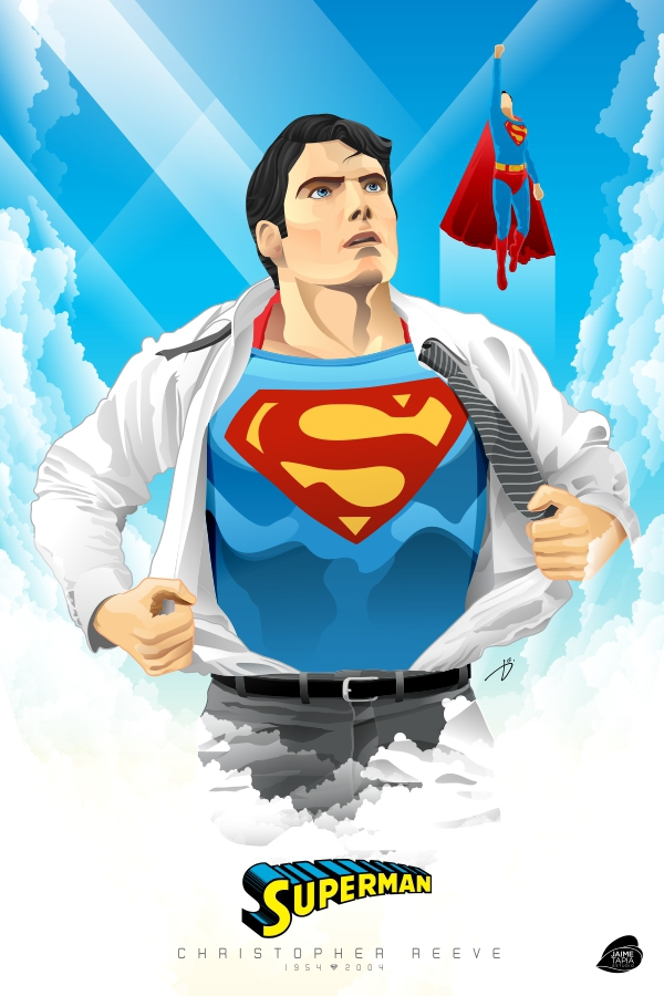 Best Superman Ever by jaime tapia
