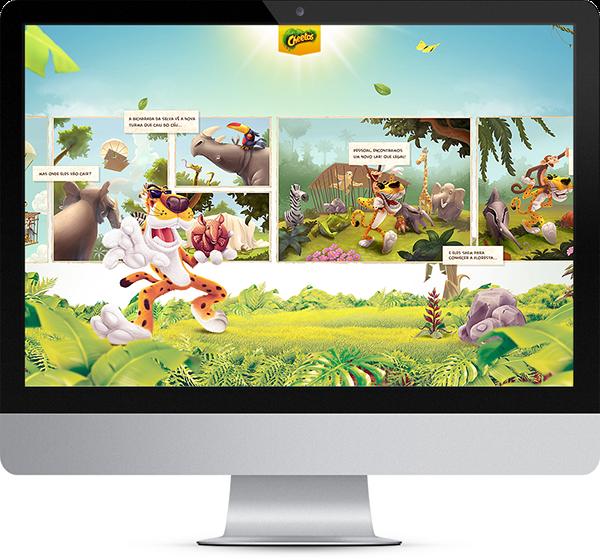 Chester Cheetah Illustrations On Behance: Cheetos Masterbrand On Behance