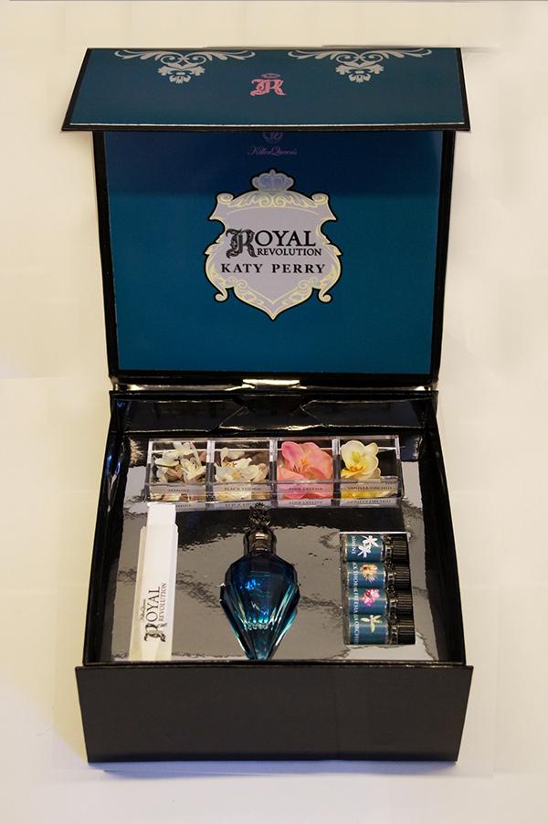Katy Perry Royal Revolution Olfactive Training Kit on Behance
