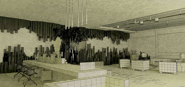 Office foyer concept on behance