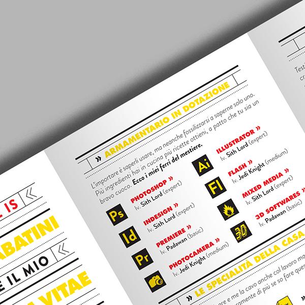 the resume 2013 on behance