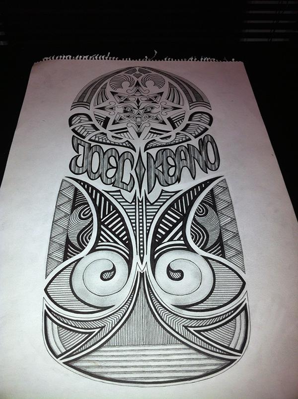 Maori Twist Tattoo: Maori-Style Totem Tattoo On Behance