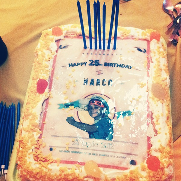 Marvelous 25Th Birthday Cake On Student Show Funny Birthday Cards Online Alyptdamsfinfo