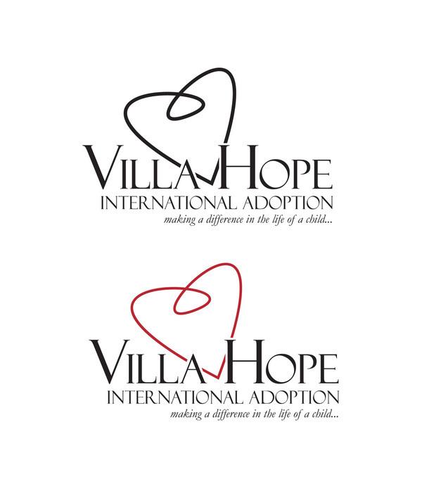 Logo Design Villa Villa Hope Logo Design on
