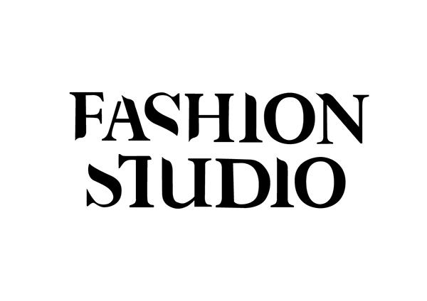 fashion studio typeface magazine on behance