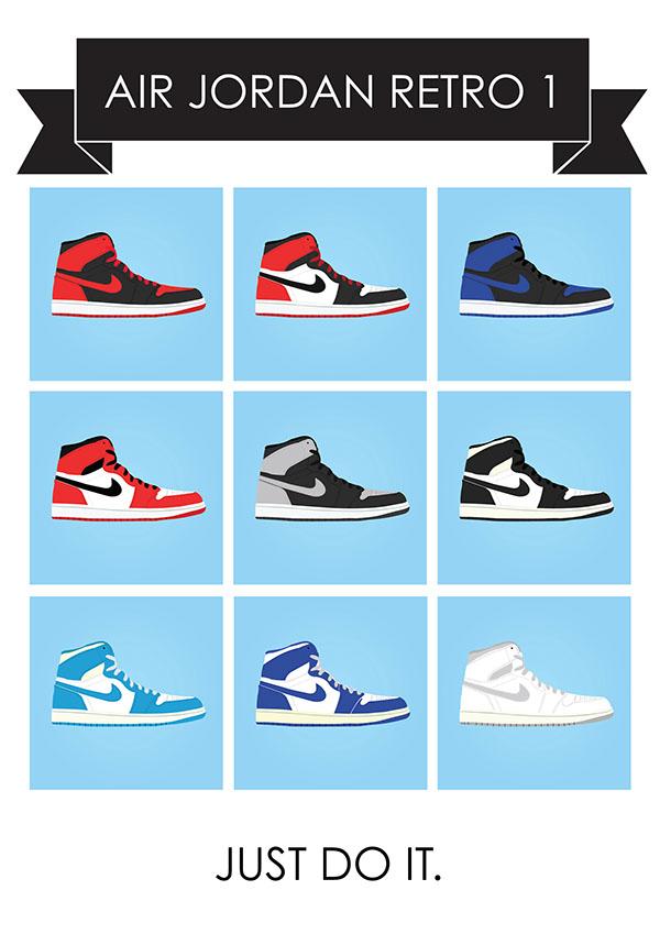 Nike Air Jordan - Retro 1 Collection on